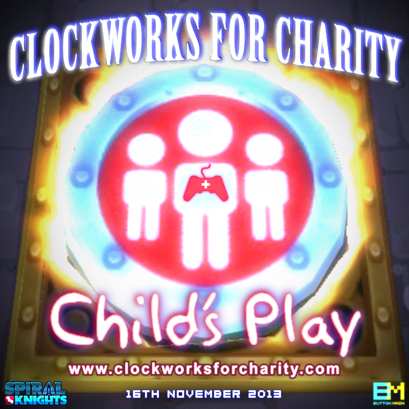 Clockworks for Charity