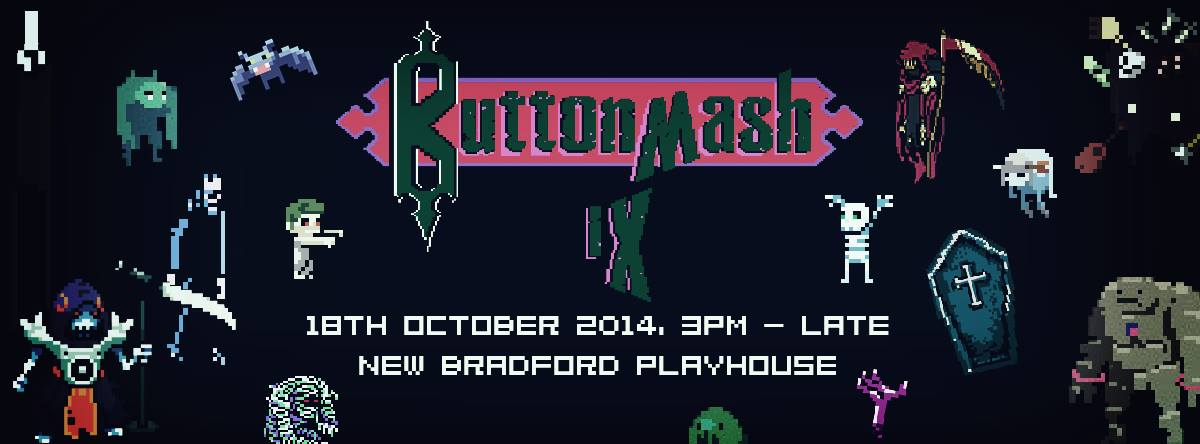 Button Mash 9 Gaming Event Banner